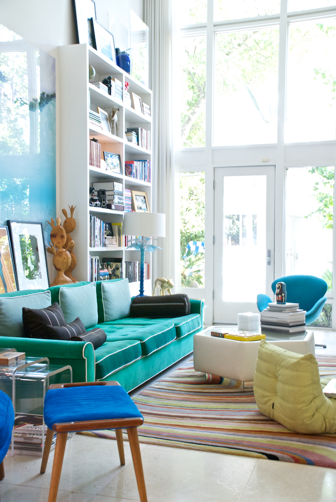 The style story of lucy steve and stella wrubel our for Living room jungle gym