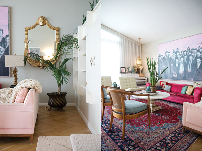 Living-room-pink-sofas